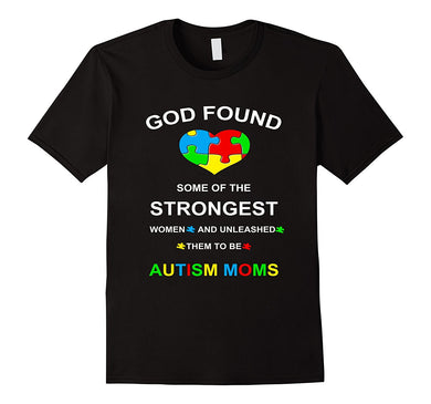 Autism Awareness T-shirts for Moms
