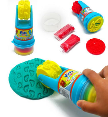Colored Non-toxic Clay Mold set with Roller