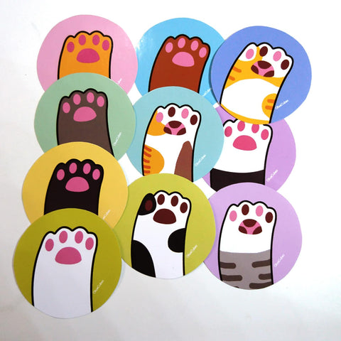 Cat Paw Stickers Set [Fund Raising]