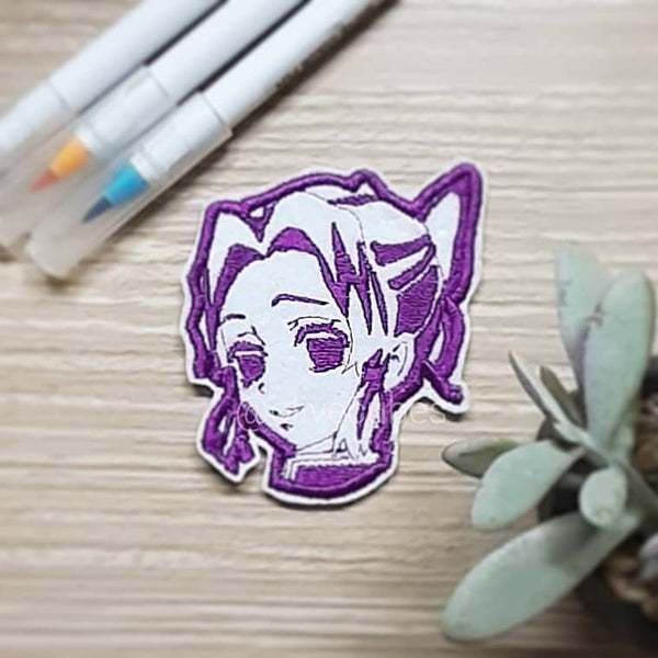 Kimetsu no Yaiba Embroidered Iron On Patch