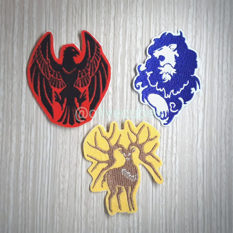 Fire Emblem: Three Houses Inspired Embroidered Iron On Patch