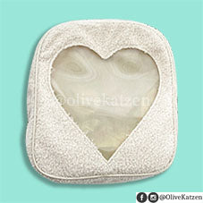 "Fluffy Heart Backpack ""Ita Bag"" (痛バッグ)"