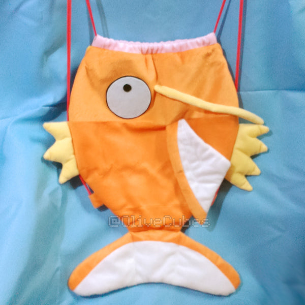Magikarp Inspired Drawstring Backpack