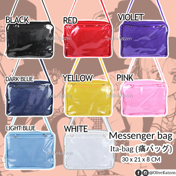 "Messenger Bag ""Ita Bag"" (痛バッグ)"