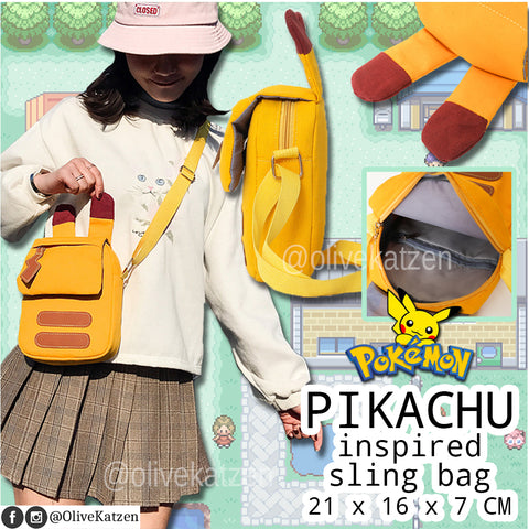 Pikachu Inspired Sling Bag (Pokémon)