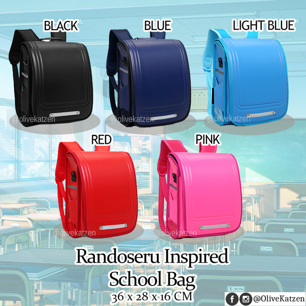 Japanese Randoseru Inspired School Bag