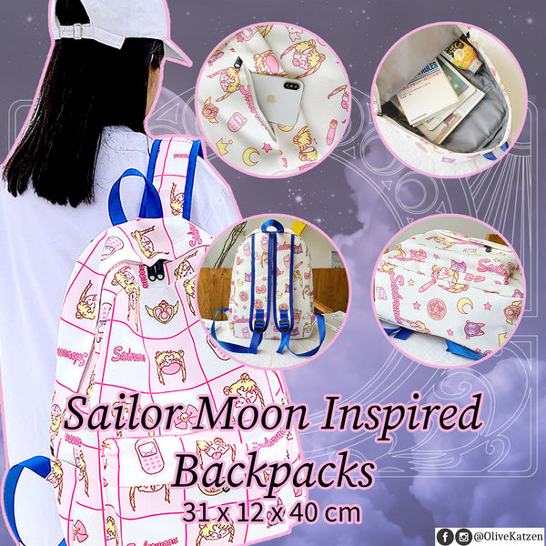 Sailor Moon Inspired Backpacks