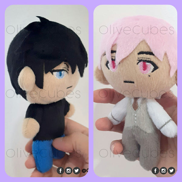 Ten Count Plush Dolls Tadaomi Shirotani & Riku Kurose