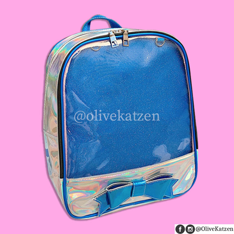 "Bow Holo Backpack ""Ita Bag"" (痛バッグ)"
