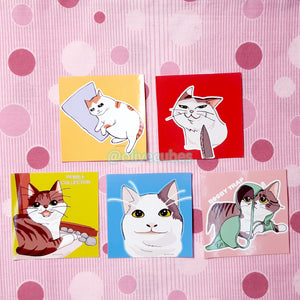 Cat Meme Stickers Set [Fund Raising]