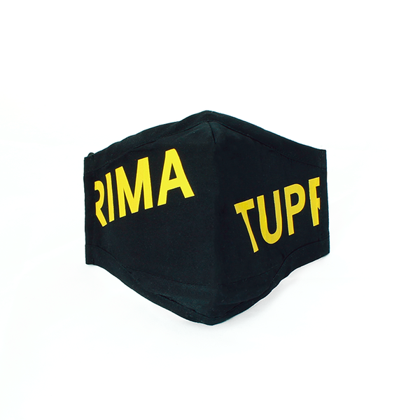 Tuprima black and yellow mask