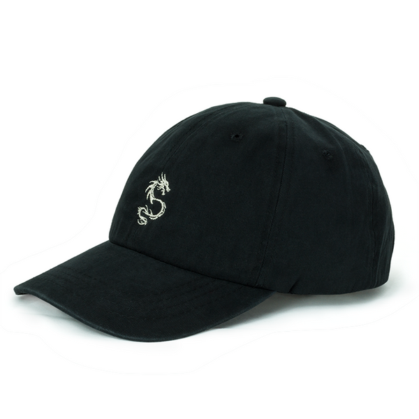 Dragon black dad hat