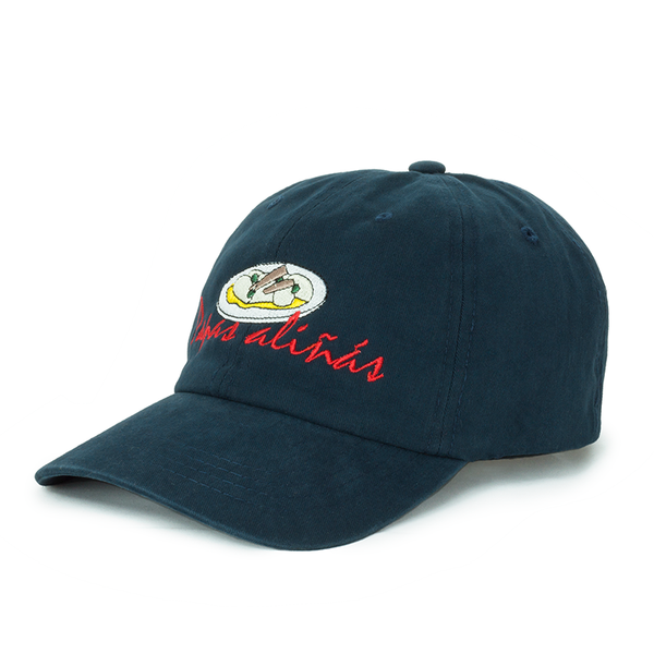 Papas aliñás navy dad hat