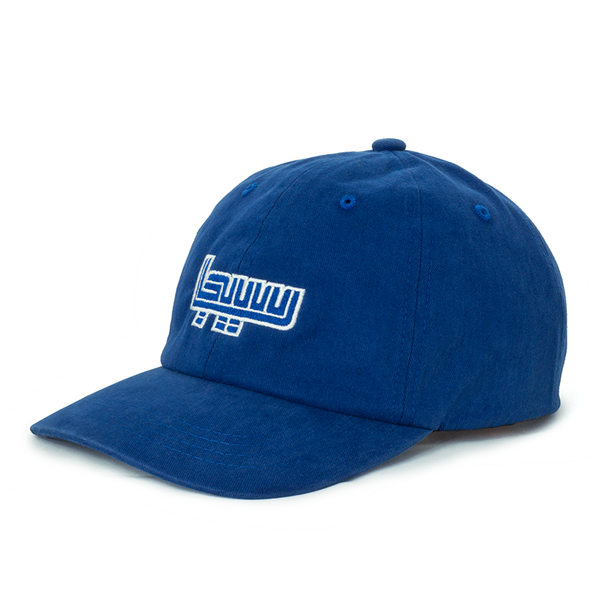Sega royal blue dad hat