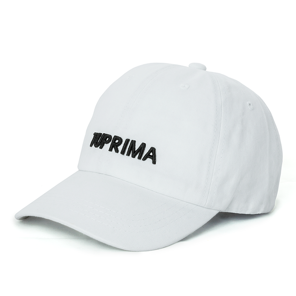Tuprima white dad hat
