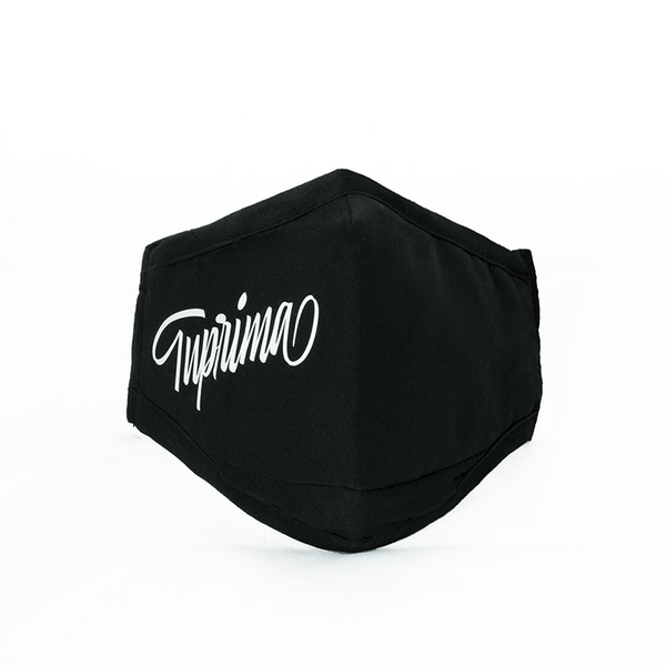 Tuprima black and white mask