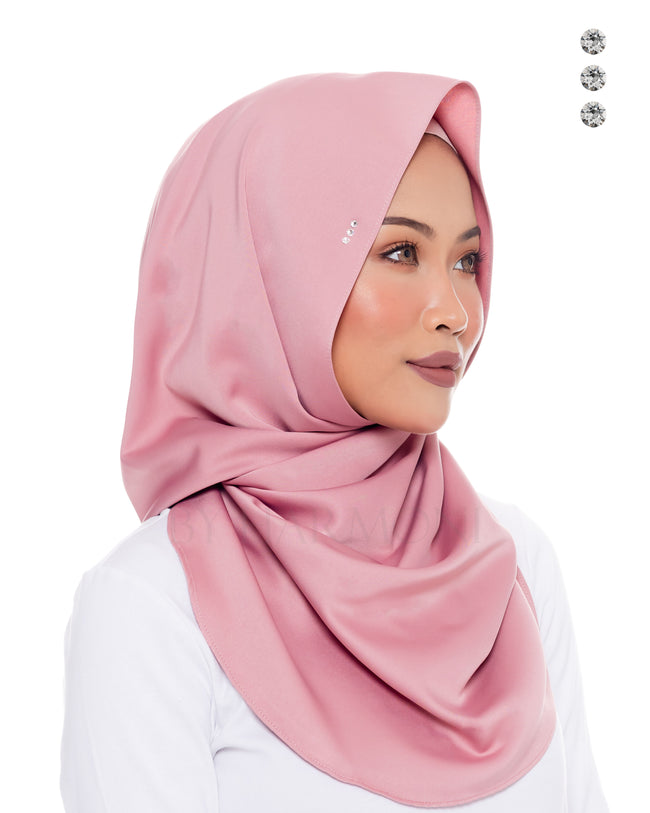 Baby Bidadari Snoodie In Classic Rose
