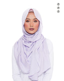 Putri Semi-Instant Shawl In Candy Floss