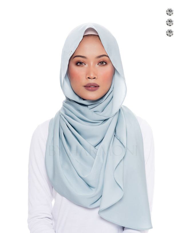 Putri Semi-Instant Shawl In Candy Teal
