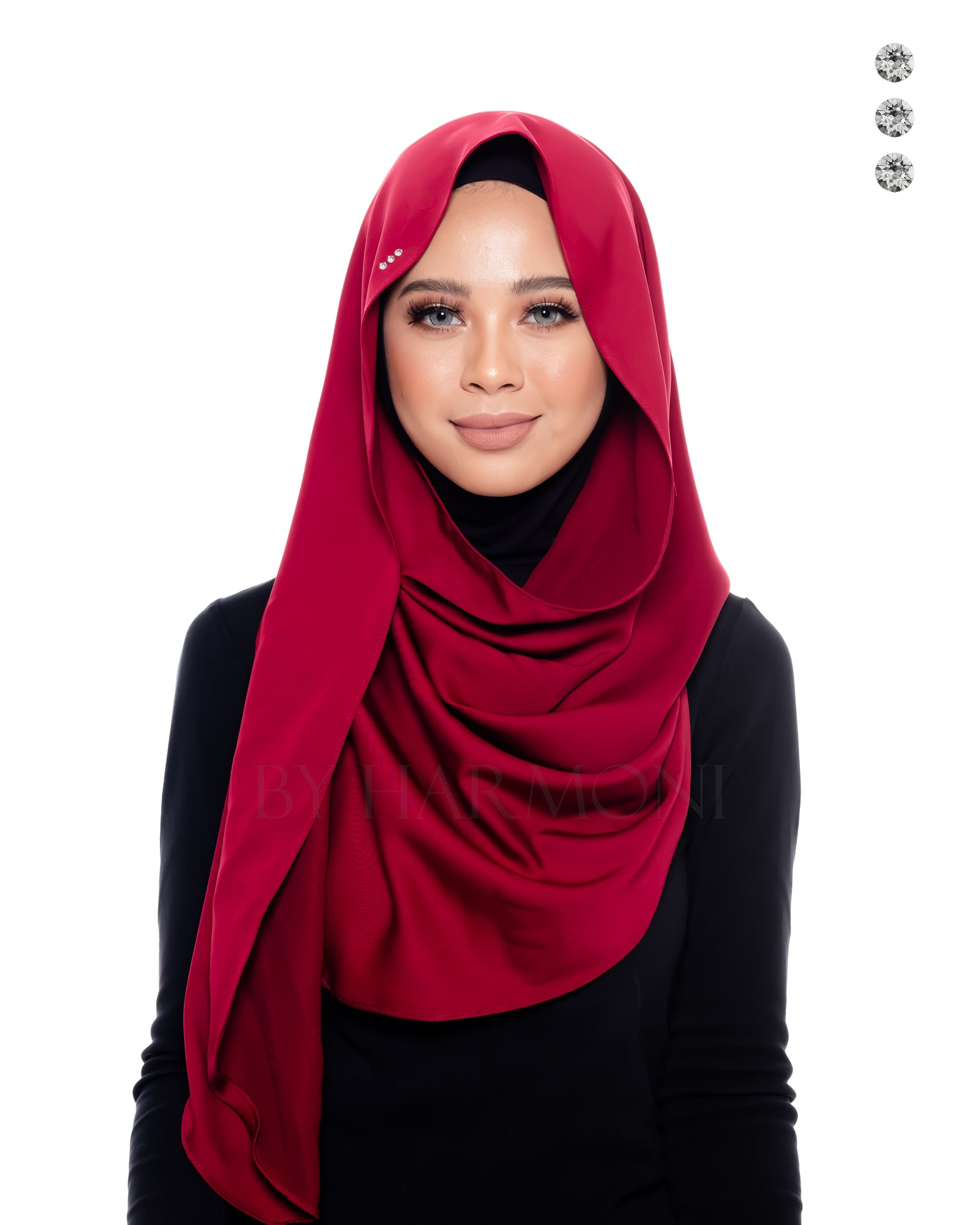 Indah Snoodie In Maroon