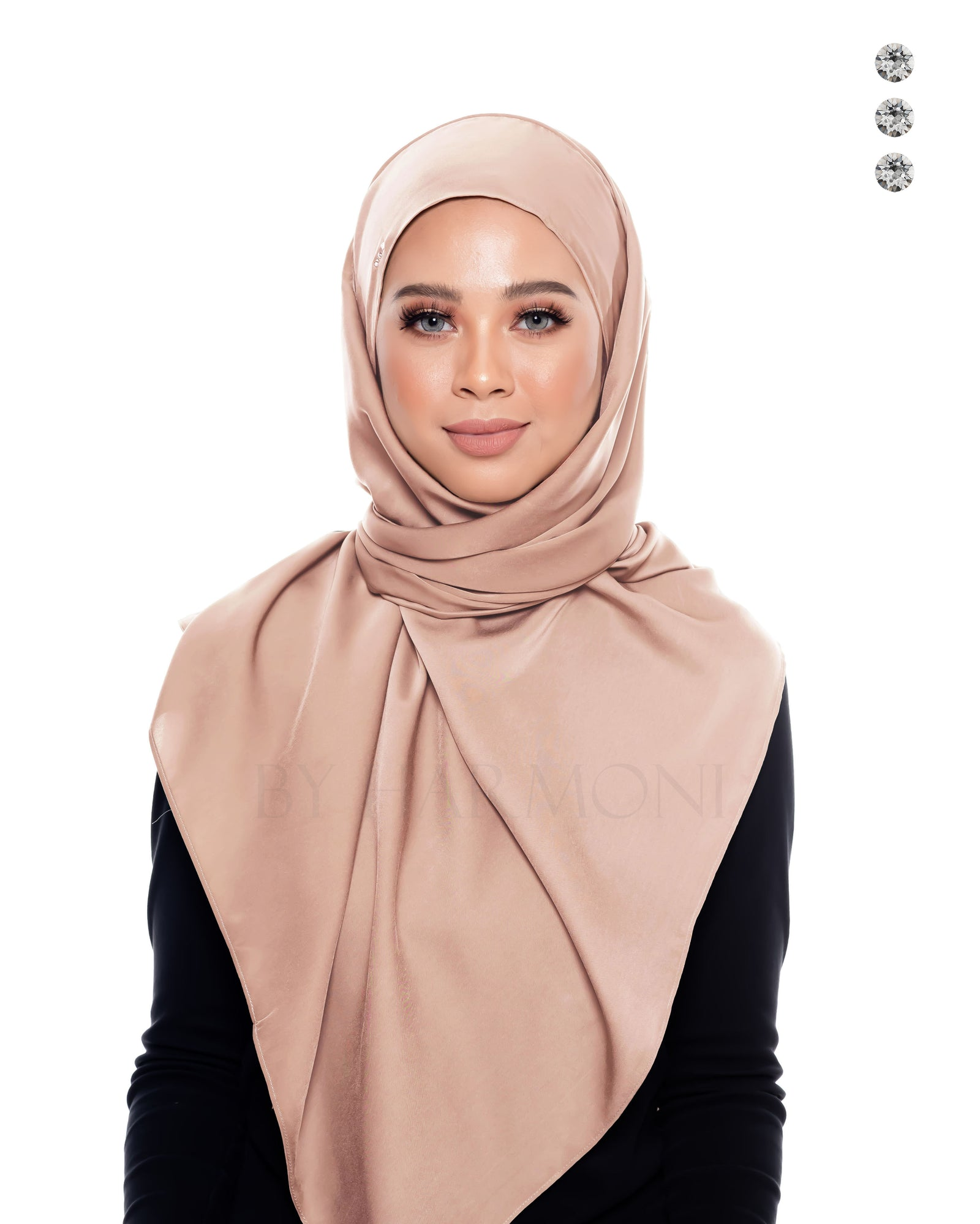 Berlian Semi-Instant Shawl In Tan