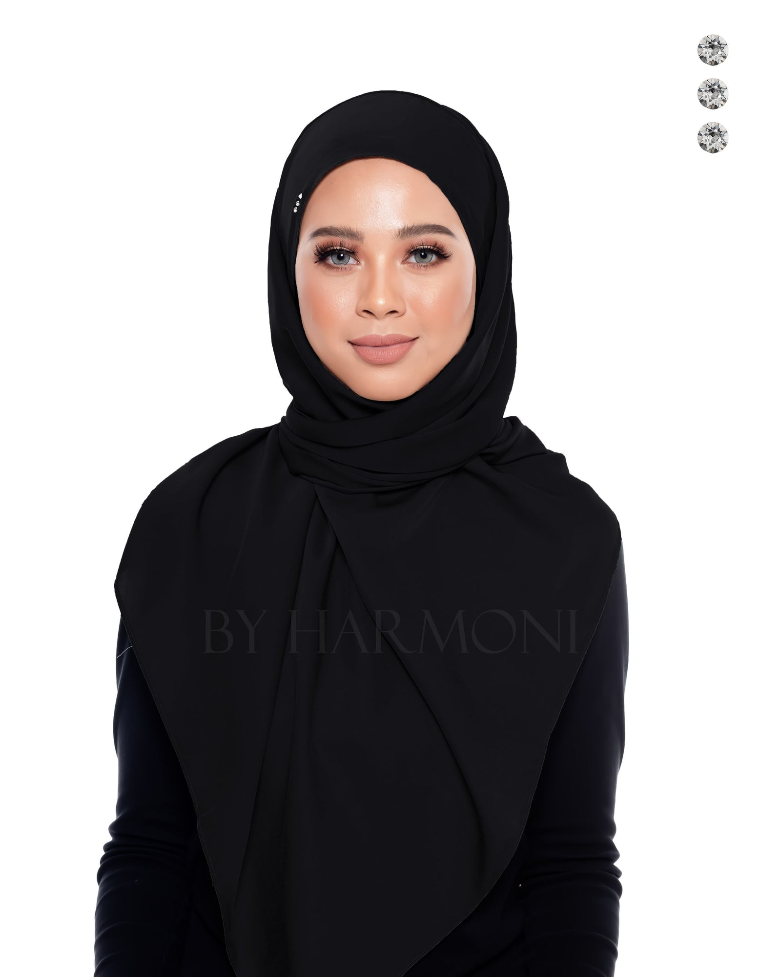 Berlian Semi-Instant Shawl In Black