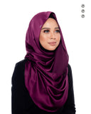 Bidadari Snoodie In Boysenberry