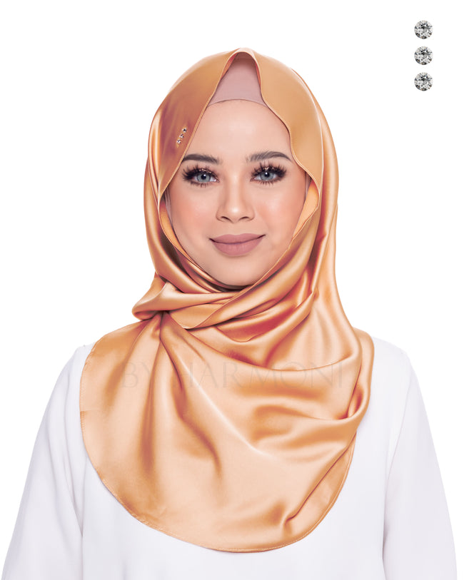 Baby Bidadari Snoodie In Pure Golden