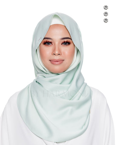 Indah Snoodie In Fresh Silver