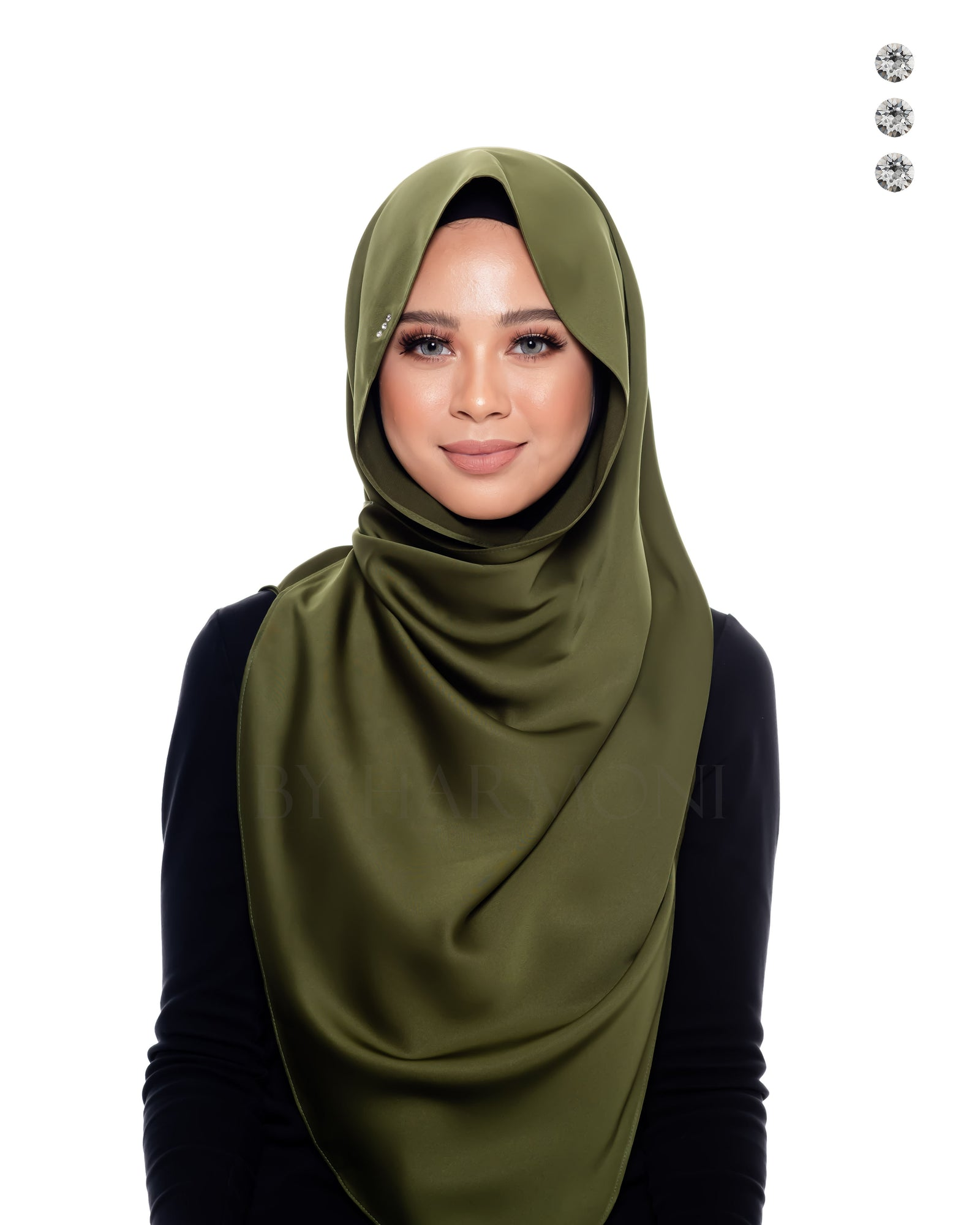 Tiara Shawl In Young Olive