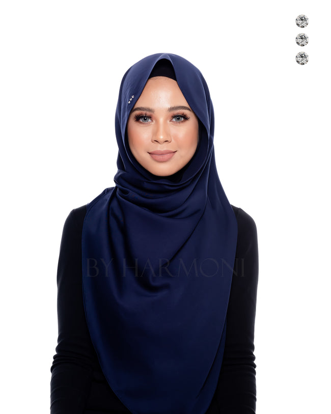 Tiara Shawl In Navy