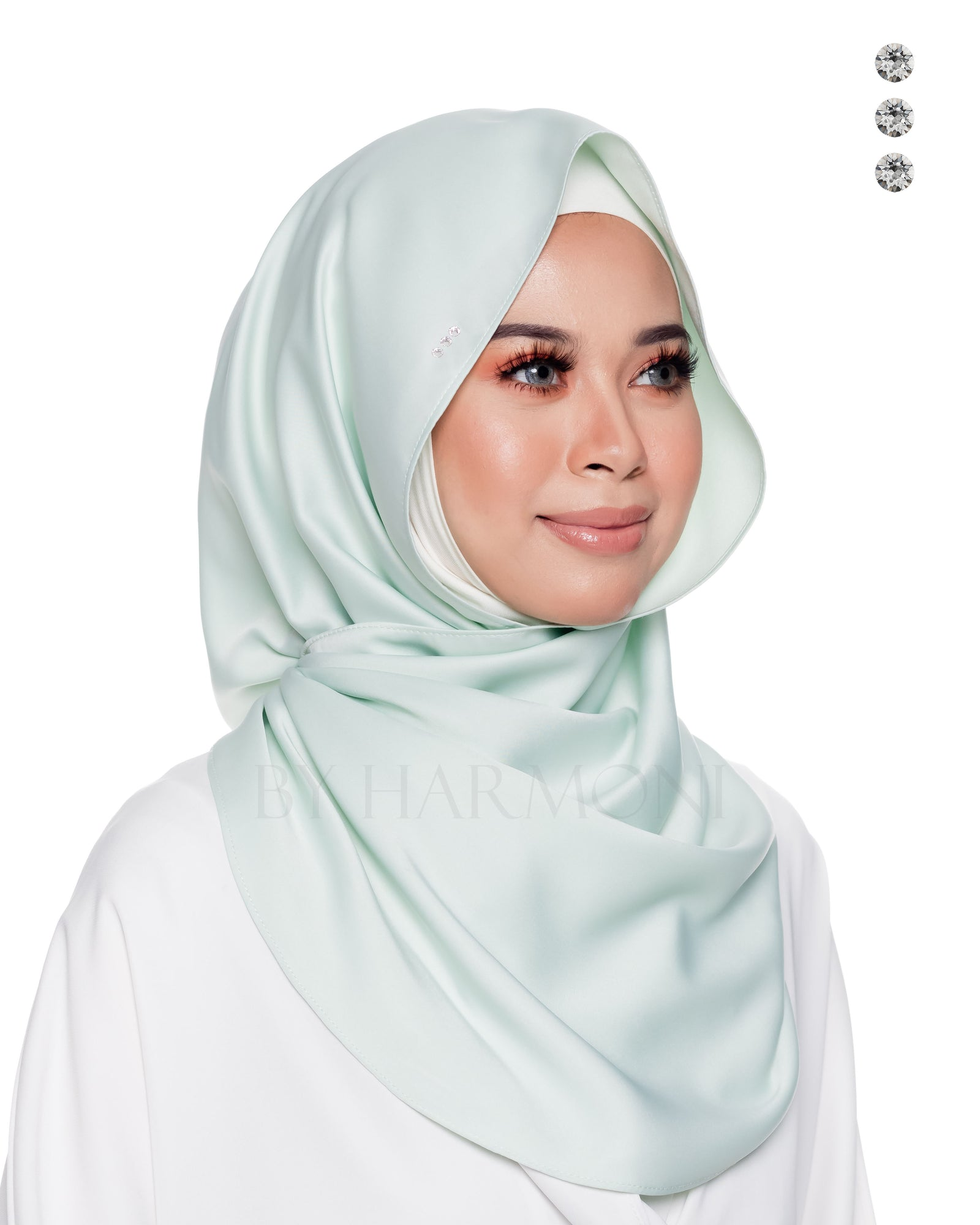 Baby Bidadari Snoodie In Fresh Mint