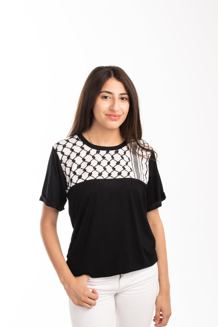 Ladies Keffiyeh Tee