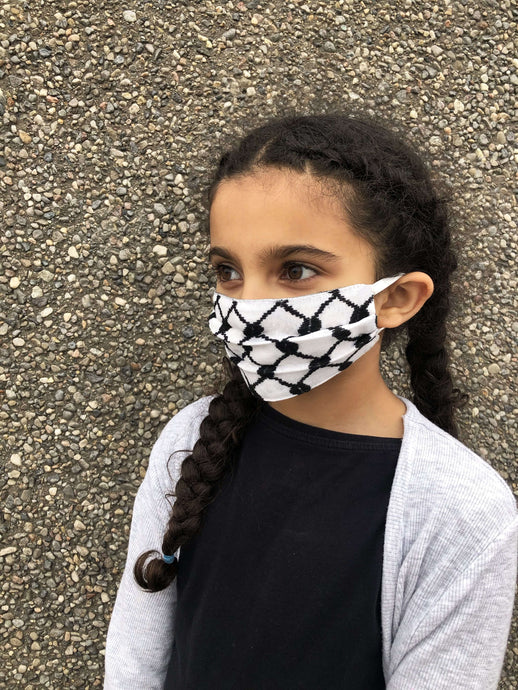 Kids Keffiyeh Mask Reusable*