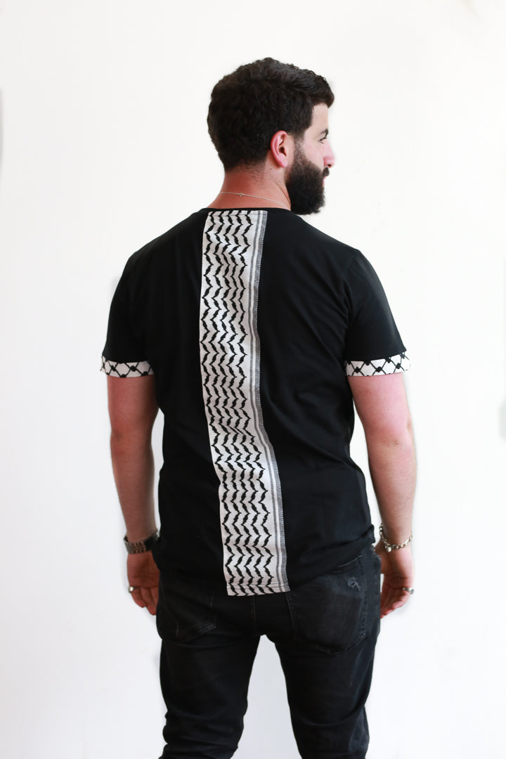 Elevated Keffiyeh Tee