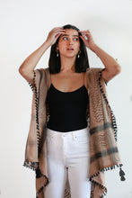 Light Weight Keffiyeh Vest-Blush Pink