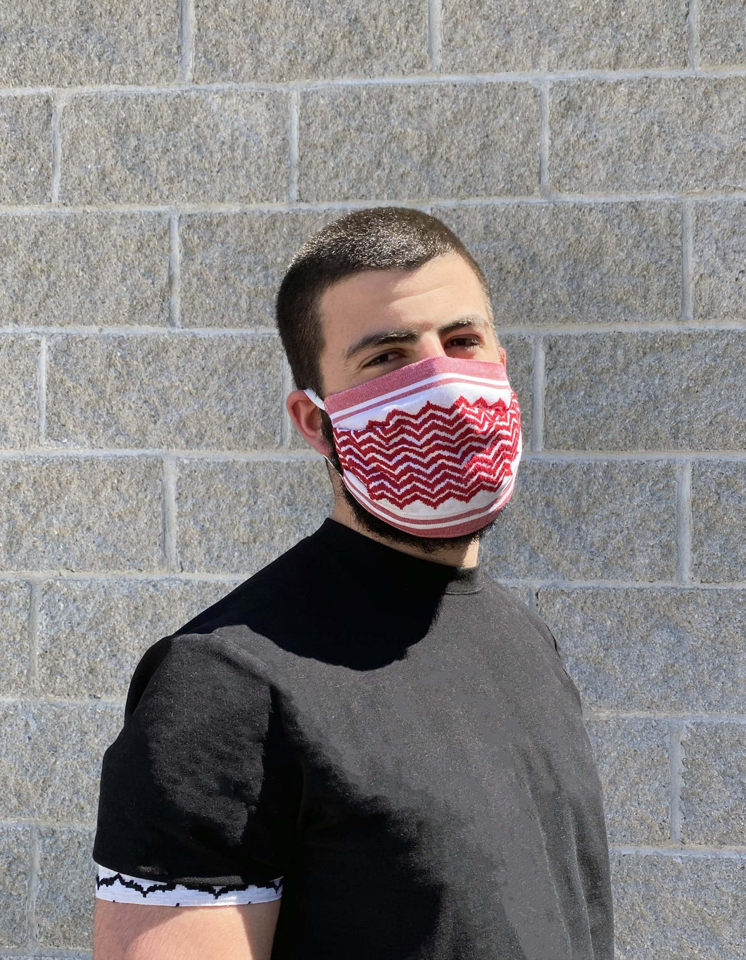 Red Keffiyeh Mask 2.0 Reusable*