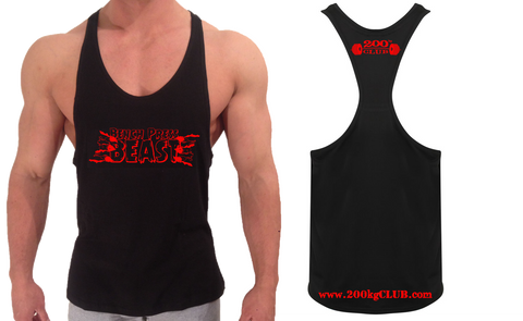 Bench Press Beast - Muscle Vest/T-Shirt – 200kg Club