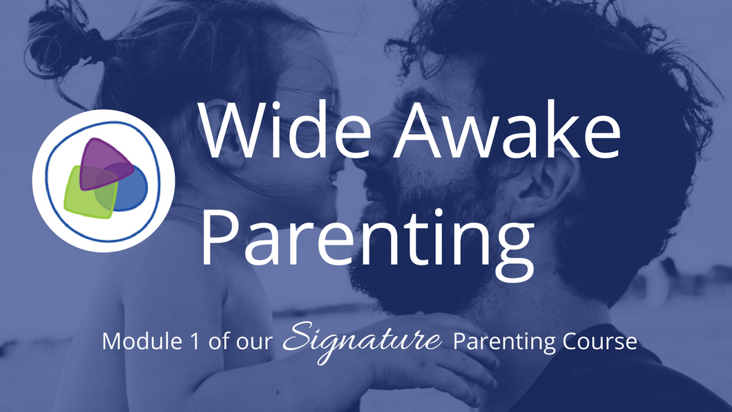 Wide-Awake Parenting Online - Module 1 of the Contemporary Parenting Signature Course