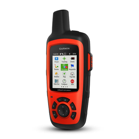 "Garmin InReach Explorer Hand held Satellite Communicator with GPS Orange 2.7"" x 6.5"" x 1.5"" - 010-01735-10"