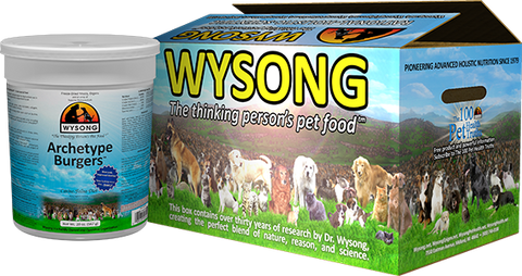 WYSONG Archetype Burgers CASE of 8 - 20 oz. Canisters