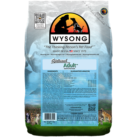WYSONG Optimal Adult™ Premium Dog Food 20 LB