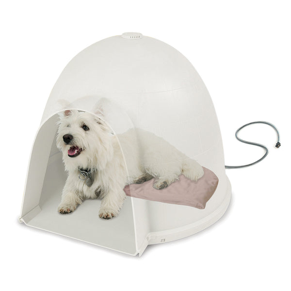 "K&H Pet Products Lectro-Soft Igloo Style Bed Small 11.5"" x 18"" x 1.5"" 20 watts - KH1033"