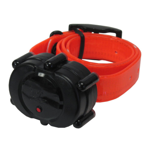 D.T. Systems Add-On or Replacement Collar Receiver (Orange) for the Micro-iDT PLUS