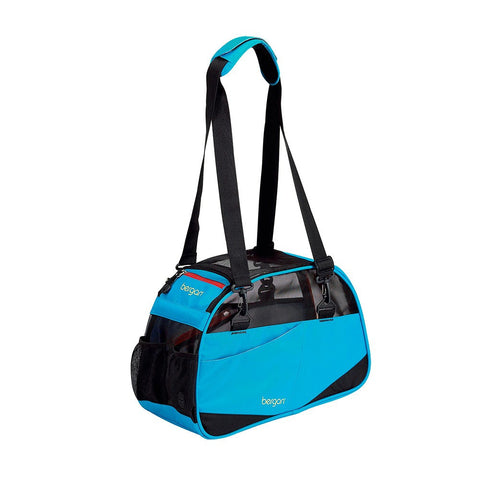 "Bergan Voyager Carrier Small Bright Blue 12"" x 8"" x 17"" - BER-88691"