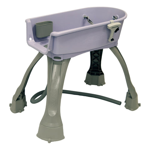 "Booster Bath Elevated Dog Bath and Grooming Center Medium Lilac 33"" x 16.75"" x 10"" - BB-MED-LILAC"