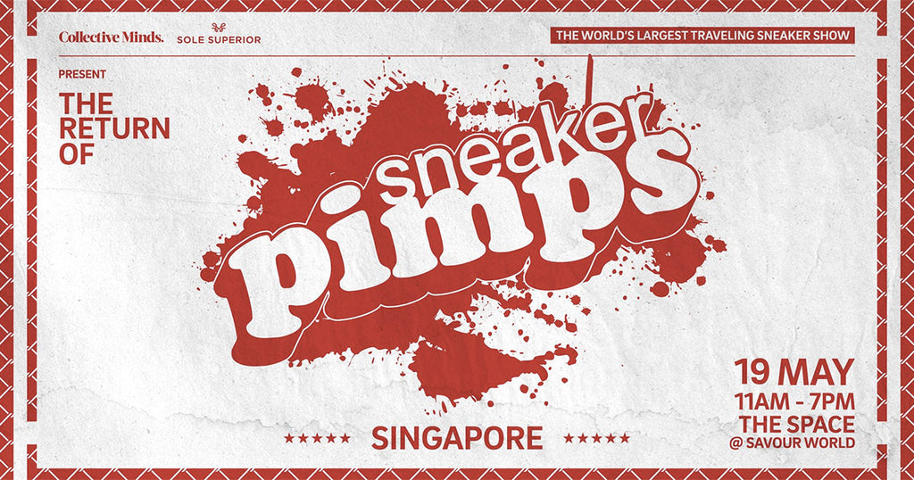 We were at Sneaker Pimps