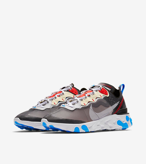 Nike React Element 87 Dark Grey Blue - DistriSneaks
