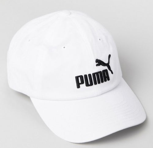 Puma Essentials Cap (White / Black) - DistriSneaks