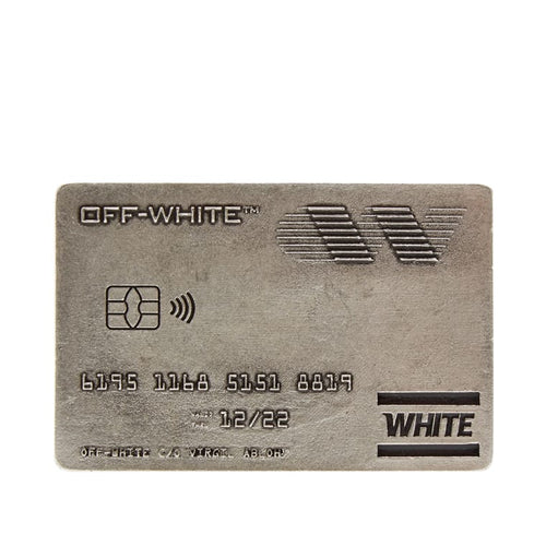 Off White Money Clip (Silver) - DistriSneaks